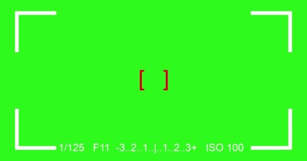 fotózás fókusz kereső kameranézet Slr kereső, a chroma-kulcs zöld képernyő