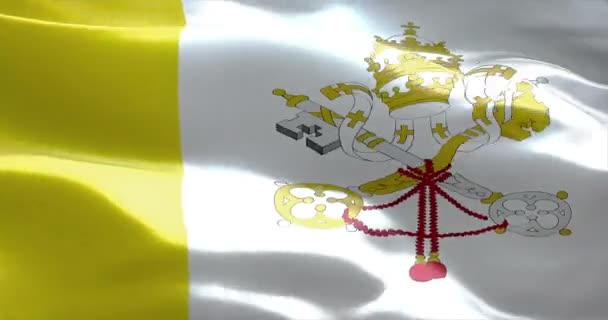 texture of the flag of vatican city state