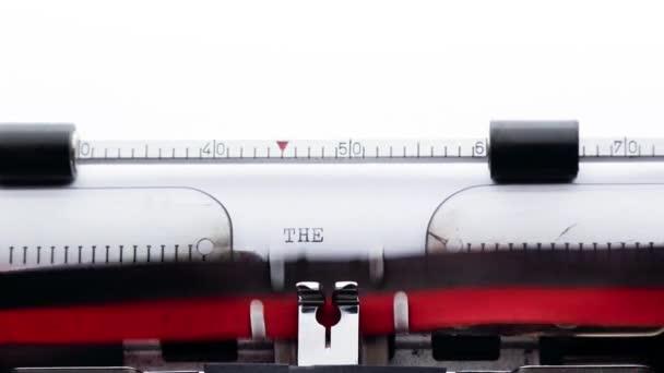 Konec na starý psací stroj, příběh spisovatele koncept