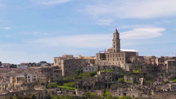 Panoramic view of Matera,basilicata, Italy. UNESCO European Capital of Culture 2019