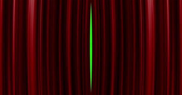 Kiváló minőségű tökéletesen Vörös függöny megnyitásával mozgás háttér