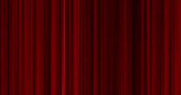 Kiváló minőségű tökéletesen varrat nélküli hurok szoros Vörös függöny mozgalom háttér