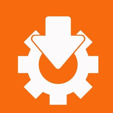 Service, settings icon