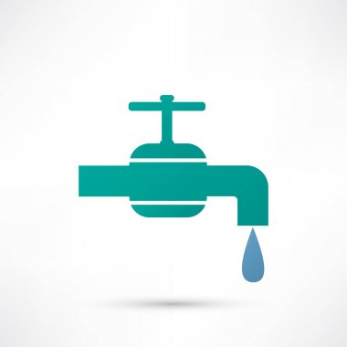 Tap, water icon