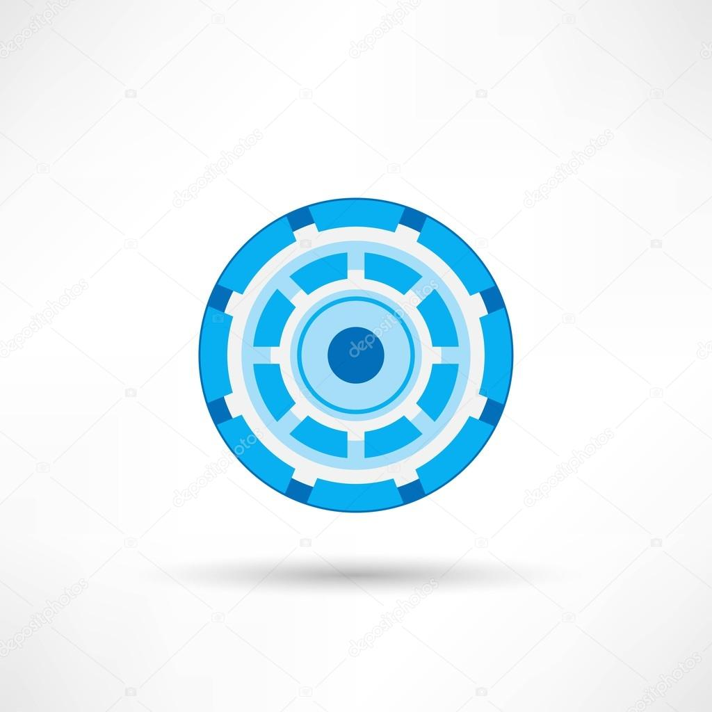 Cyber eye symbol icon Stock Vectors, Royalty Free Cyber eye symbol ...