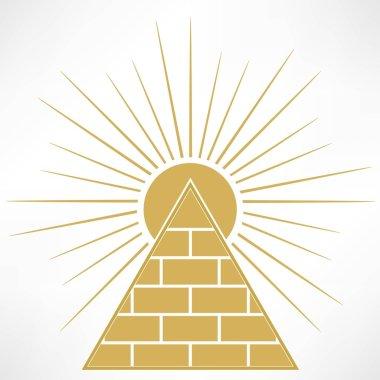 yellow Pyramid icon