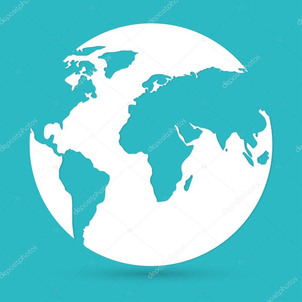 World map globe icon stock vector slasny1988 72958009 world map globe icon stock vector gumiabroncs Gallery