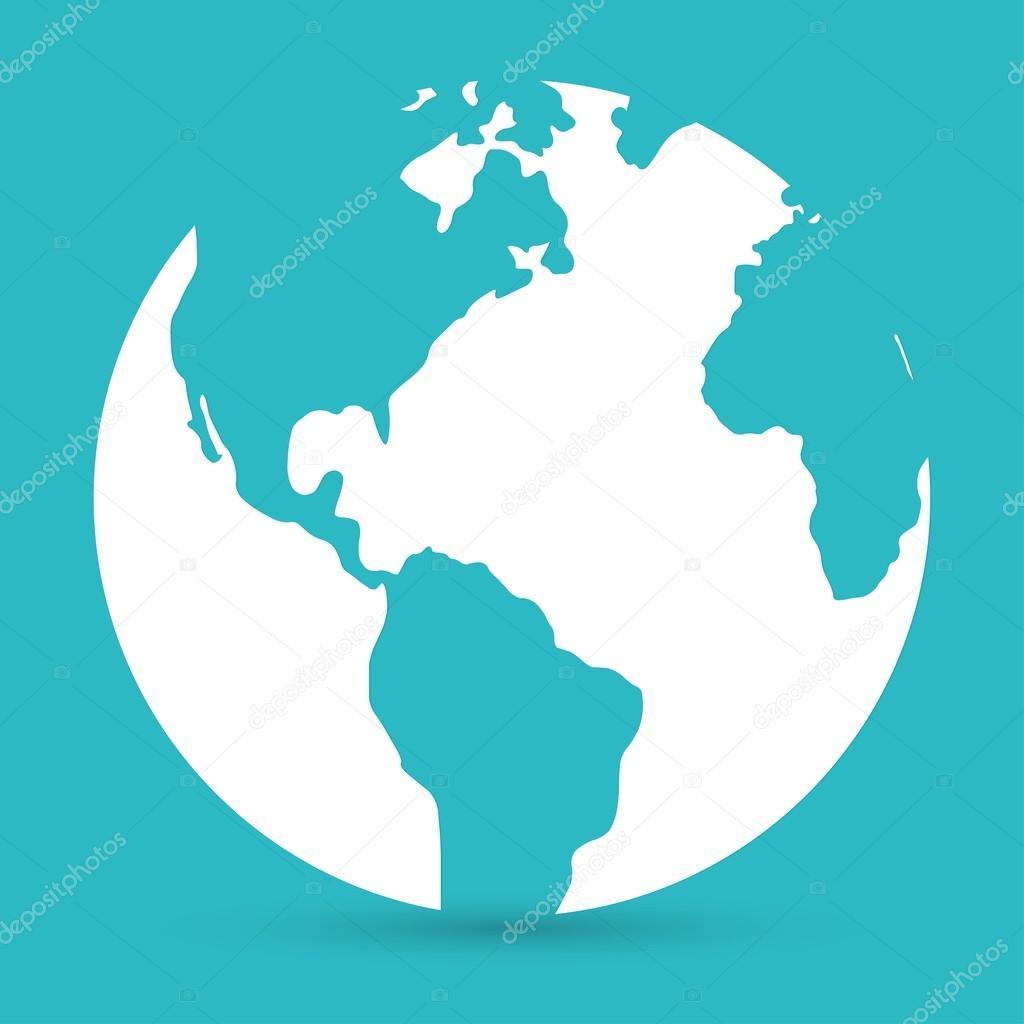 World map globe icon stock vector slasny1988 72958095 world map globe icon stock vector gumiabroncs Gallery