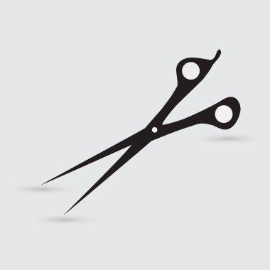 Scissors, hair drasser icon