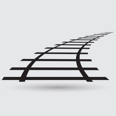 Railroad, track icon