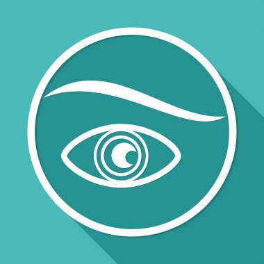 Icon of eye, vision