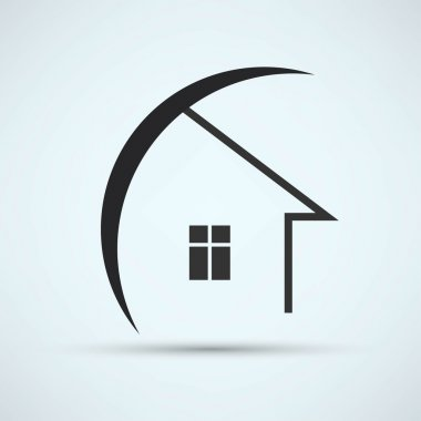 House, real estate icon