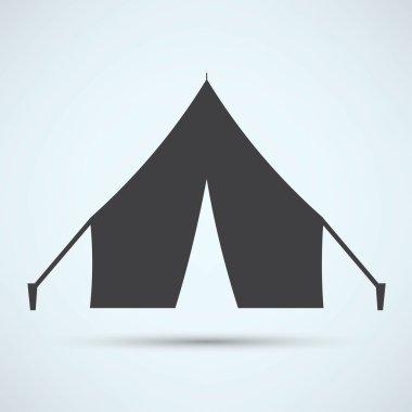 Tent, travel icon