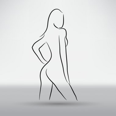 beautiful woman symbol
