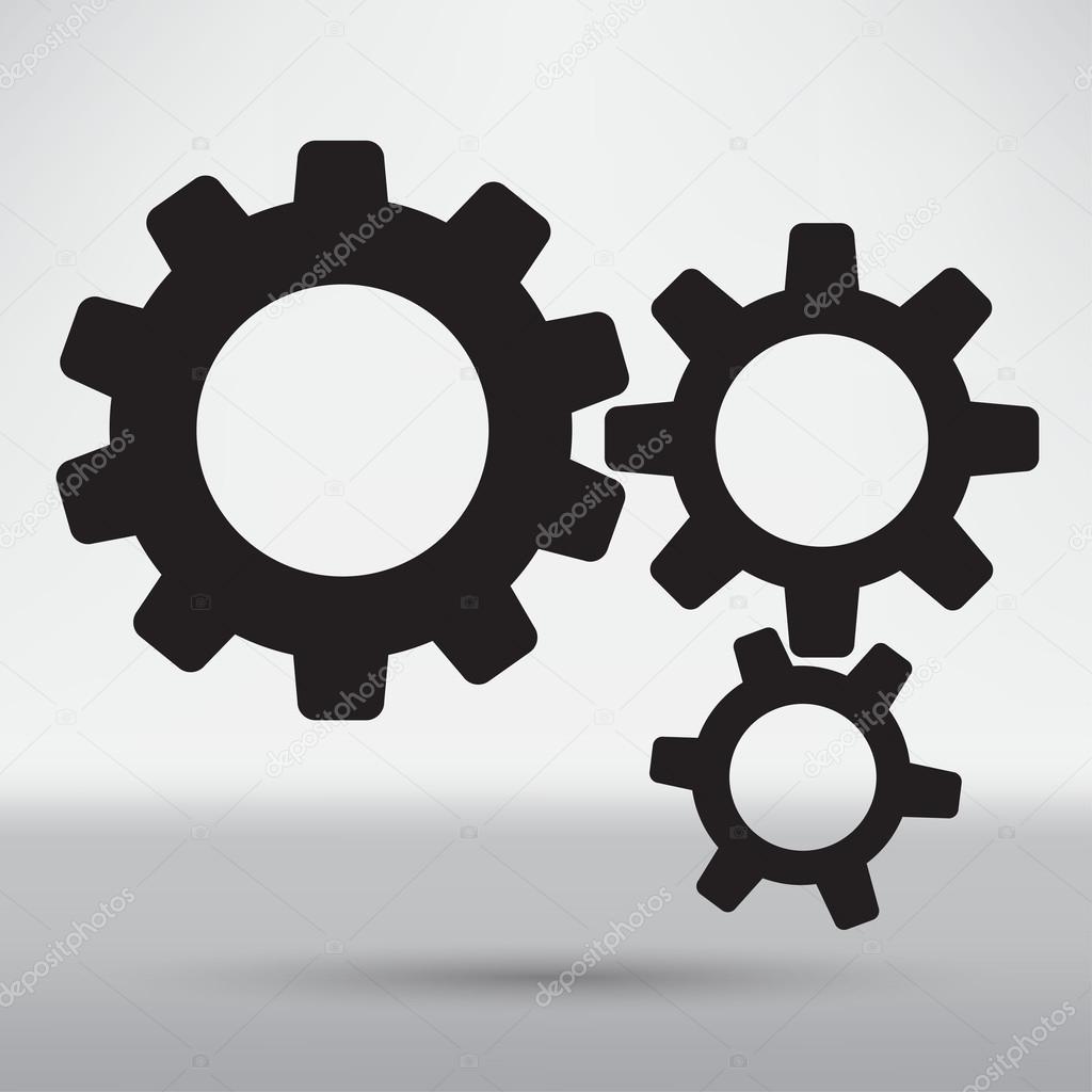 Technical Mechanical Symbol Stock Vector Slasny1988 76160921