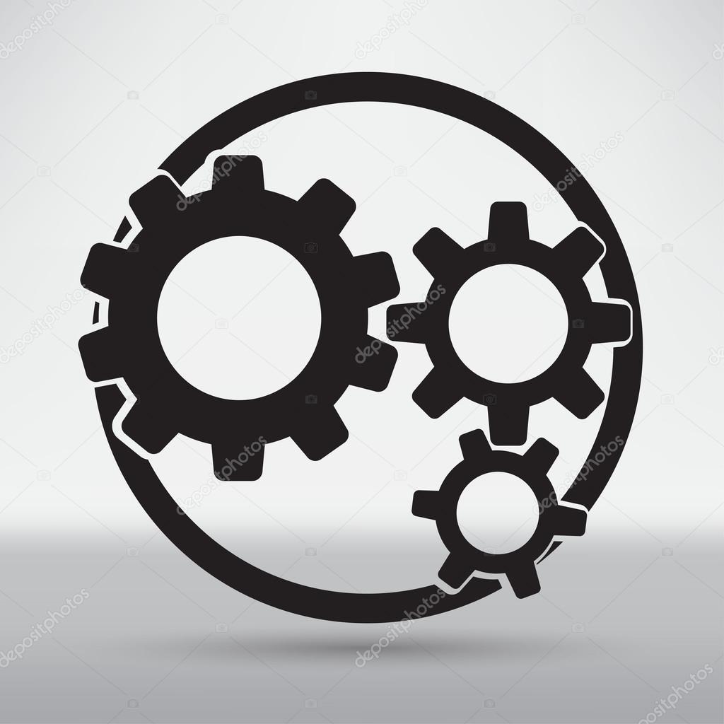 Technical Mechanical Symbol Stock Vector Slasny1988 76161431