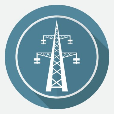 Icon Power transmission tower