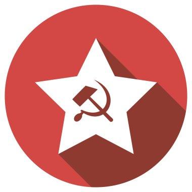 socialist symbol, star icon