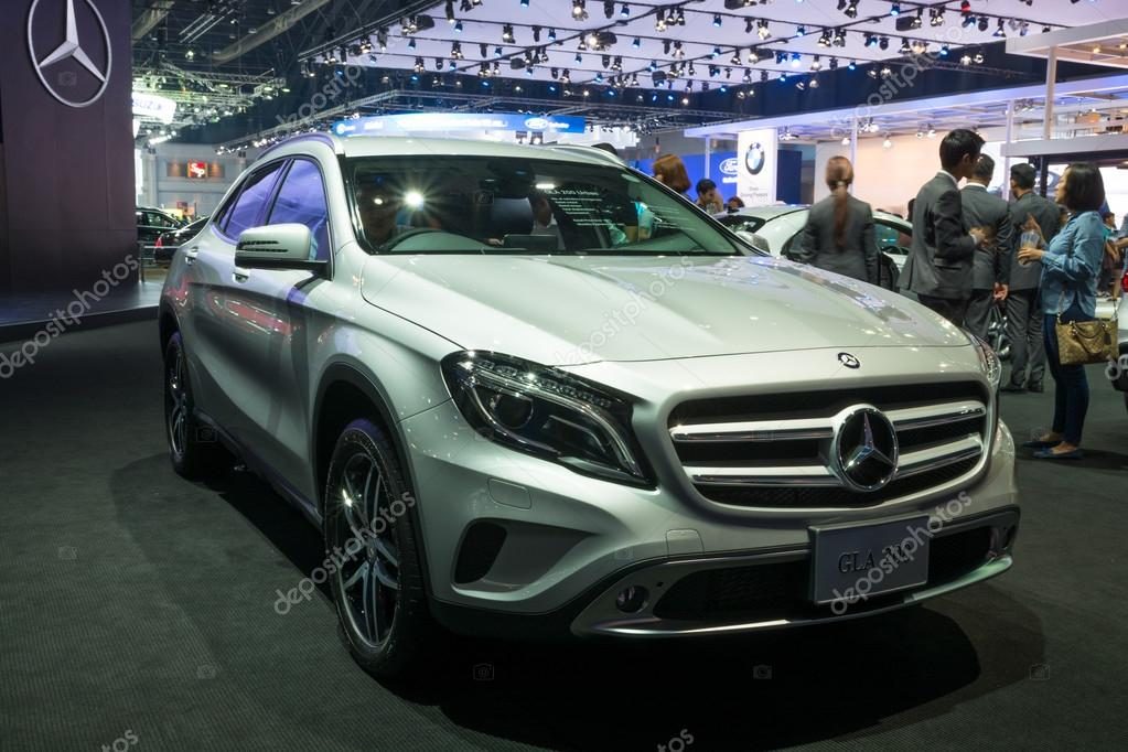 NONTHABURI - MARCH 23: Interior Design of NEW Mercedes Benz GLA ...