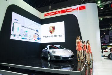 NONTHABURI - MARCH 23: New Porsche 911 Carrera S on display at T
