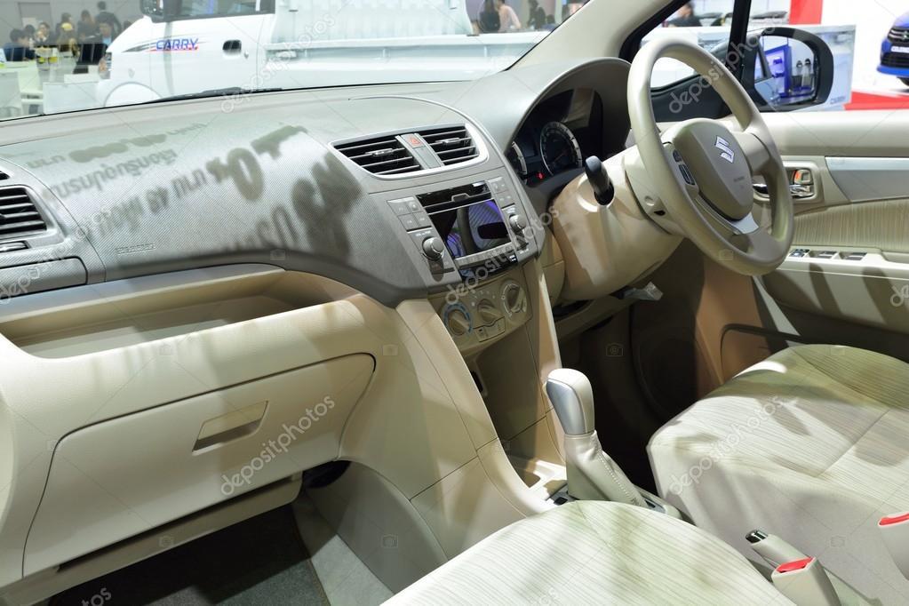 Nonthaburi December 1 Interior Design Of Suzuki Ertiga Car Di