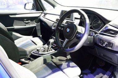 BANGKOK - March 26 : Interior design of Passenger room of BMW 21