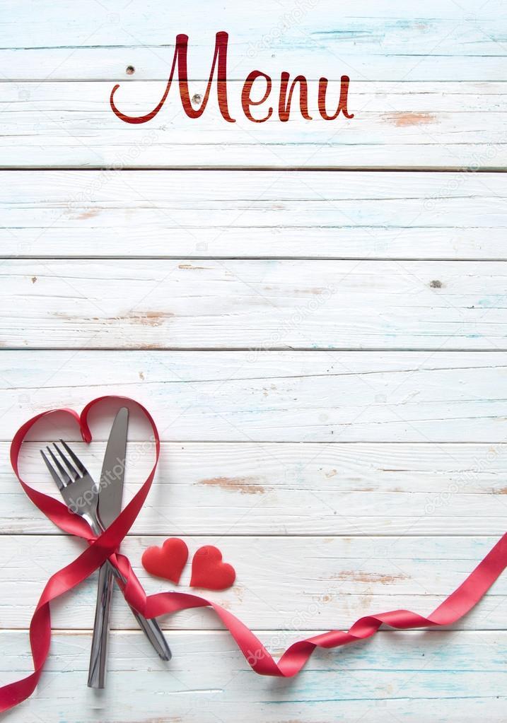 Valentine Menu Background Stock Photo C Nupix 101853414