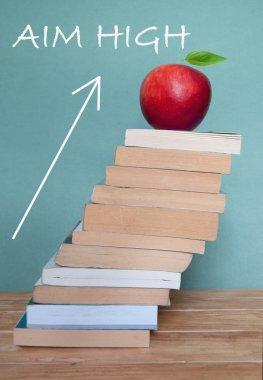 Aim high in education