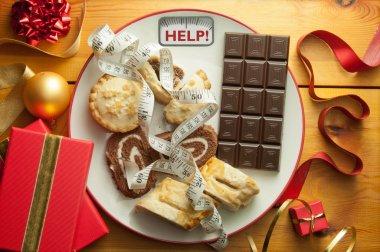 Christmas diet concept