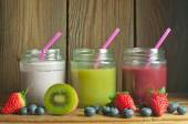 Detox fruity smoothies