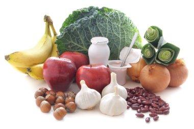 Probiotic (prebiotic) food diet