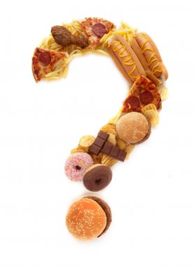 Junk food unhealthy lifestyle choice