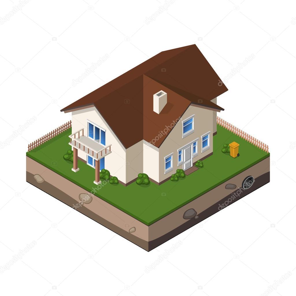 Картинки по запросу домик с землей значок