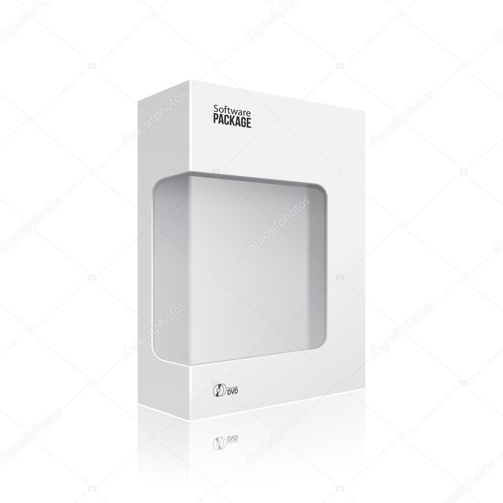 Entzückend Mypaketkasten Dekoration Von Weiß Moderne Tips-produkt-paket-kasten Mit Fenster Für Dvd-