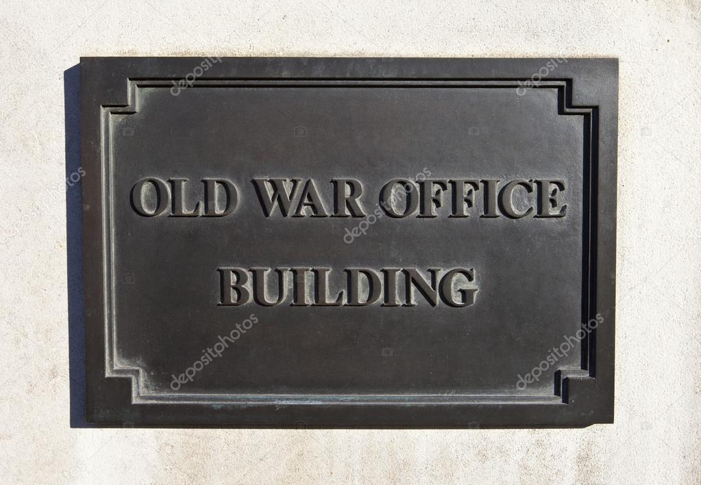 Ancien immeuble de bureaux de guerre à londres u photographie
