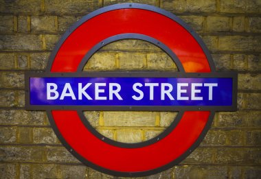 Baker Street Underground Station in London