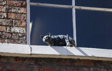 Cat Statue in York