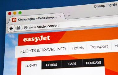 EasyJet official Website