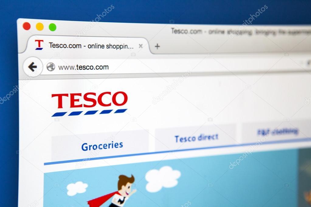 Tesco Official Website
