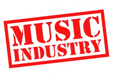MUSIC INDUSTRY Rubber Stamp