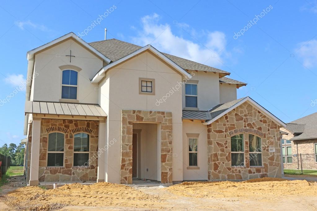 Schöne Häuser U2014 Stockfoto