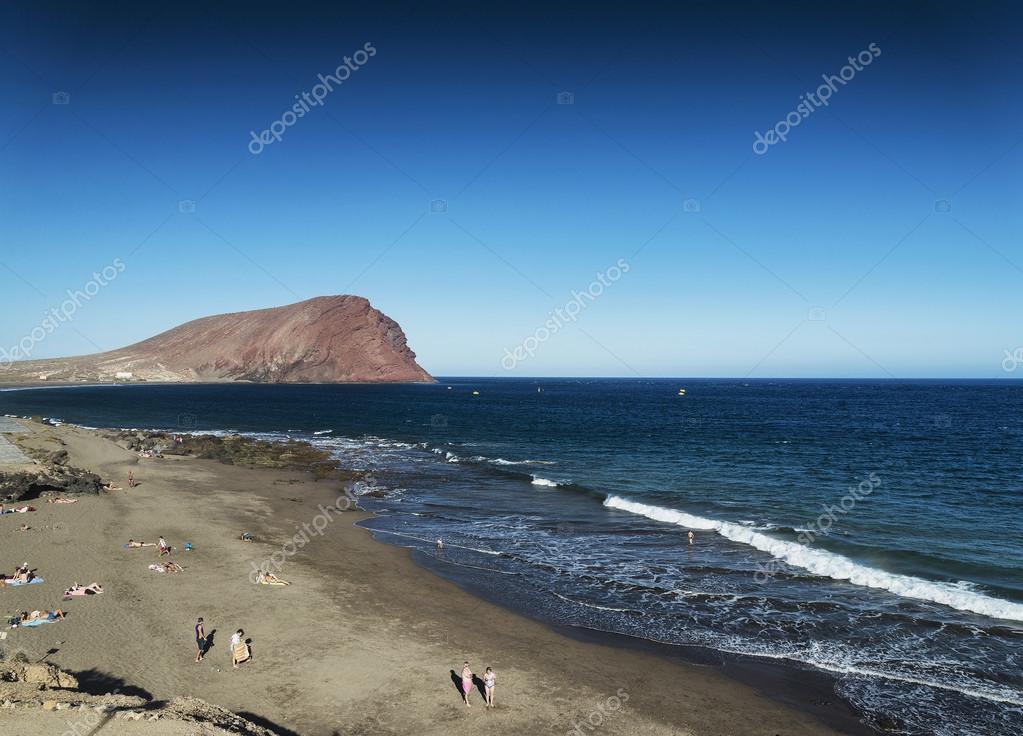 Baños Tenerife | Las Tejitas Praia E Montana Roja No Sul De Tenerife De Espanha