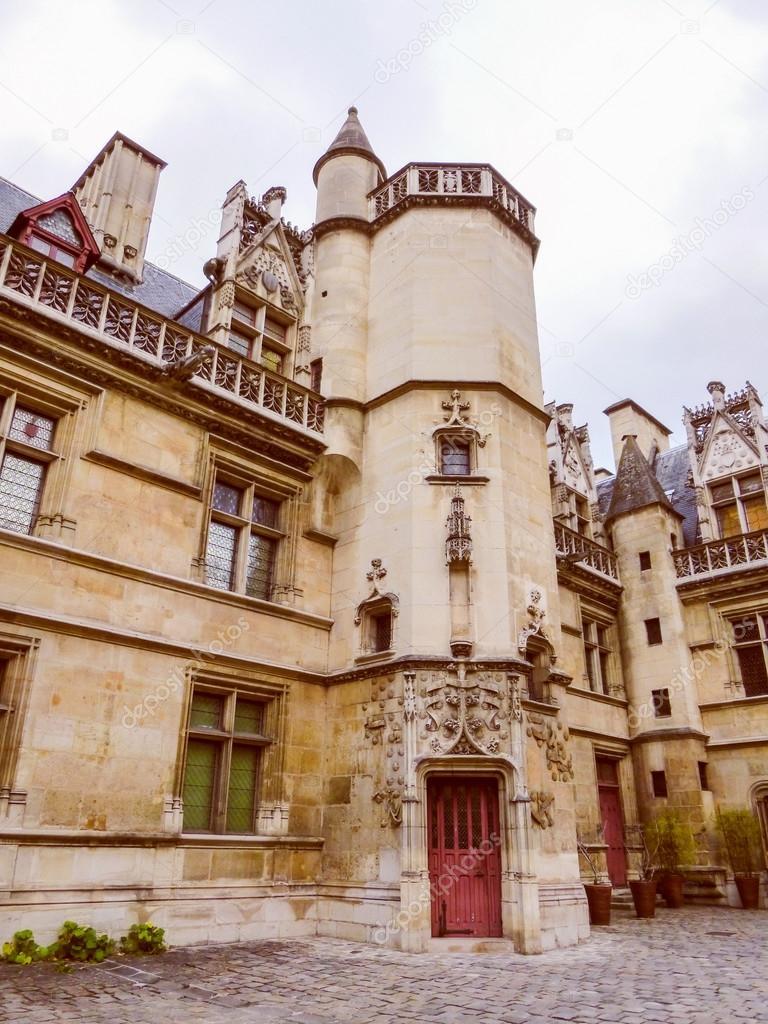 hotel de cluny moyen age paris museum