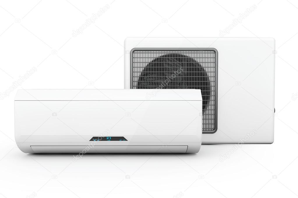moderne Klimaanlage — Stockfoto © doomu #61278227