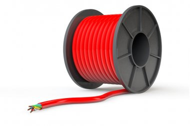Red Electrical Cable