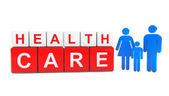 Egészségügyi ellátás kockák személyek család