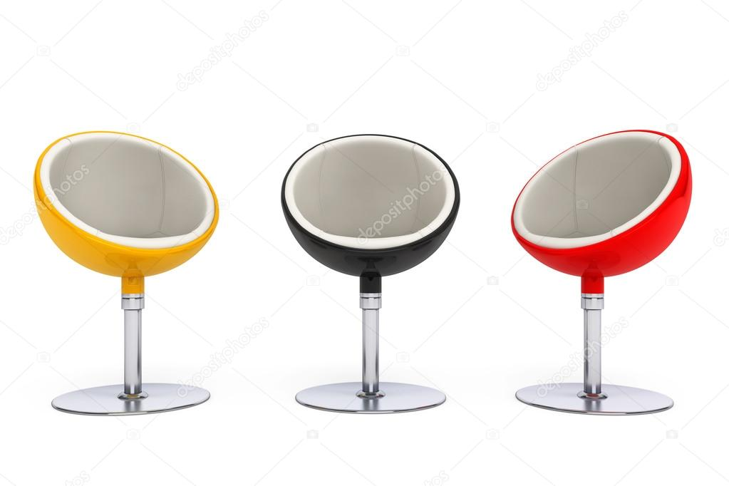 Modern Ball Chairs U2014 Stock Photo