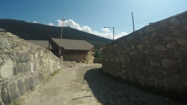 Ulice horská vesnice