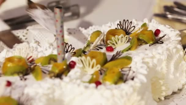 Svatební dort na banket