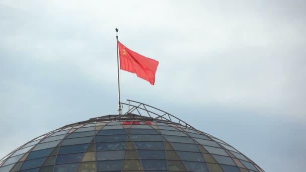 Vlajka SSSR v Minsku